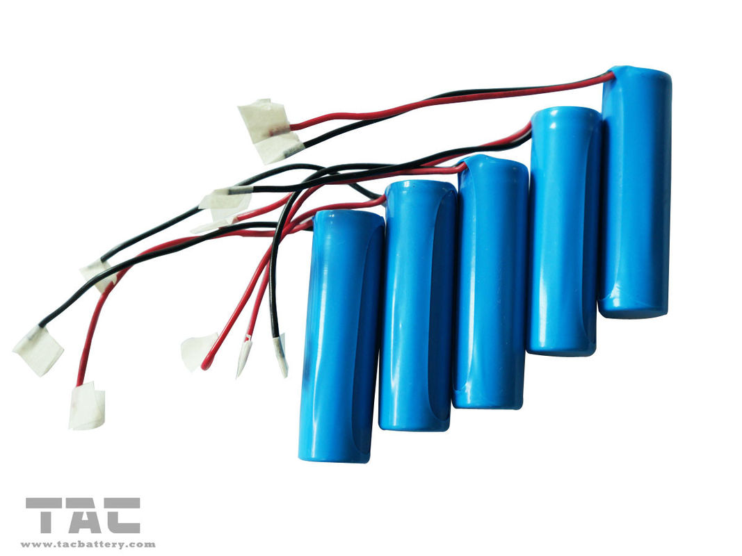14505 AA 3.2V LiFePO4 Battery Pack With Wire For Road Studs For GPS