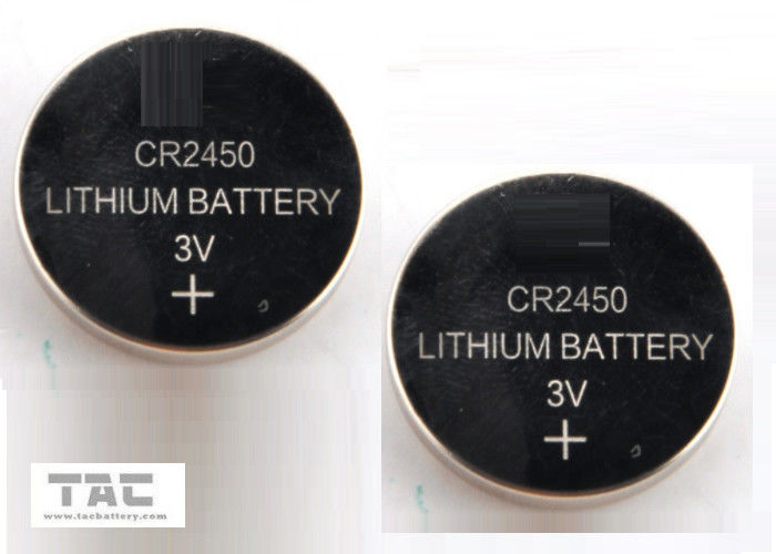 CR2450 3.0V 600mA Li-Mn Primary Lithium Coin Cell Buttery for Clock, Memory Card