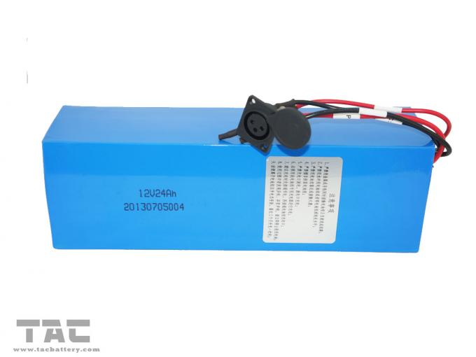 12V 24Ah Lifepo4 battery pack